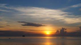 Sunrise over Sea Stock Image