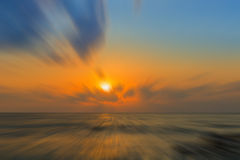 Sunrise over the sea, Blur background. Sunrise over the sea, Blur background, Abstract Stock Photos
