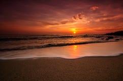 Sunrise over the sea Royalty Free Stock Photos