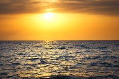 Sunrise over the sea. Early morning sunrise over the sea Royalty Free Stock Image