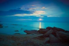 Sunrise over sea Royalty Free Stock Image
