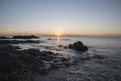Sunrise over the sea. Royalty Free Stock Photography
