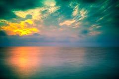 Sunrise over sea Royalty Free Stock Photos