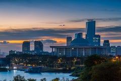 Sunrise over Seoul Royalty Free Stock Photography