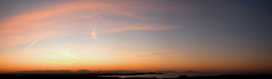 Sunrise over Snowdonia Royalty Free Stock Photo