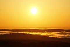 Sunrise over South Devon Stock Photos