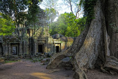 Sunrise over Ta Phrom Stock Image