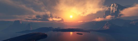 Free Sunrise Over The Clouds. Sunset Over The Clouds. The Moon In The Clouds. Panorama Of Clouds. Royalty Free Stock Photography - 159051237
