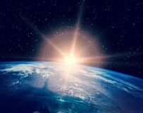 Free Sunrise Over The Earth. The Elements Of This Image Furnished By NASA Stock Photos - 179880573