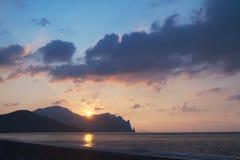 Sunrise Over The Sea Stock Photos