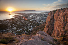 Sunrise over Townsville in Queensland Royalty Free Stock Photos