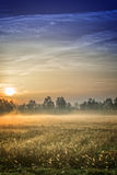 Sunrise over the Vehnemoor Stock Photography