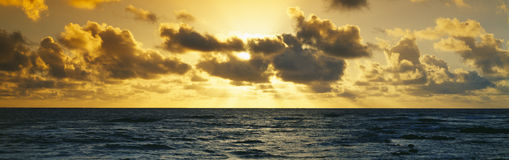 Sunrise on the Pacific Ocean Royalty Free Stock Photography