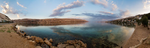 Sunrise Pag panorama Stock Images