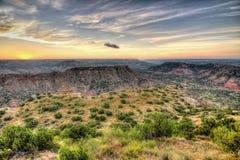 Sunrise at Palo Duro Stock Images
