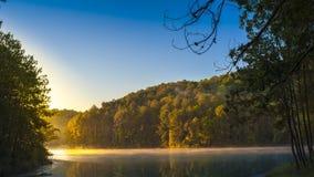 Sunrise at Pangoung, Thailand Stock Images