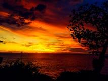 Sunrise pantai kesirat gunung kidul Stock Photos