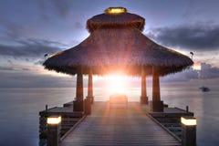 Sunrise in the paradise Stock Image