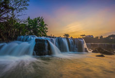 Sunrise parigi waterfall Stock Photo