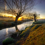 Sunrise in the park4a Royalty Free Stock Photography