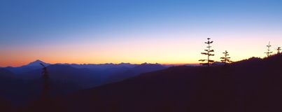 Sunrise Peak Stock Image