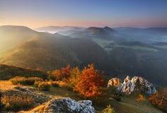 Sunrise in peak Vapec Royalty Free Stock Photos
