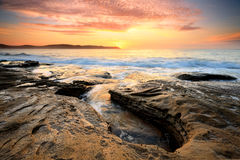 Sunrise Pearl Beach Australia Royalty Free Stock Photo