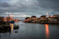 Sunrise Peggy's Cove Stock Photography