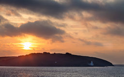 Sunrise at Pendennis Head Stock Photography