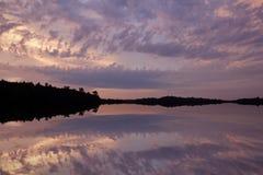 Sunrise Pete's Lake Royalty Free Stock Photography