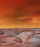Sunrise Petrified Forest Arizona Royalty Free Stock Images