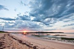 Sunrise at Phillip Island, Victoria, Australia Royalty Free Stock Photo