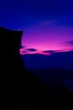 Before sunrise in Phucheefah Stock Image