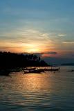 Sunrise at Phuket Beach Royalty Free Stock Images