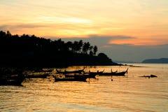 Sunrise at Phuket Beach Stock Image