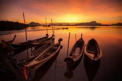Sunrise in Phuket, Thailand Royalty Free Stock Photos