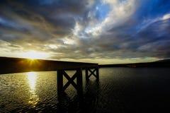 Sunrise Pier Royalty Free Stock Images