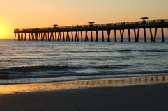 Free Sunrise Pier Stock Photography - 90272