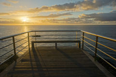 Sunrise Pier Royalty Free Stock Image