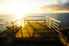 Sunrise Pier Stock Images