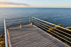 Sunrise Pier Stock Photography