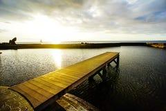 Sunrise Pier Royalty Free Stock Photo
