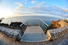 Sunrise Pier Stock Images