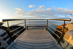 Sunrise Pier Stock Photography