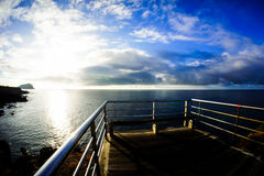 Sunrise Pier Royalty Free Stock Photo
