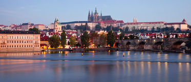 Sunrise in Prague Royalty Free Stock Photo