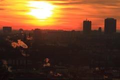 Sunrise in Prague Royalty Free Stock Photography
