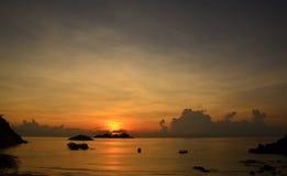 Sunrise on Pulau Redang Malaysia Stock Photo