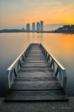 Sunrise at Pullman Putrajaya Royalty Free Stock Photography