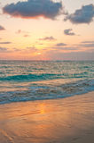 Sunrise on Punta Cana. Beach, Dominican Republic Stock Image
